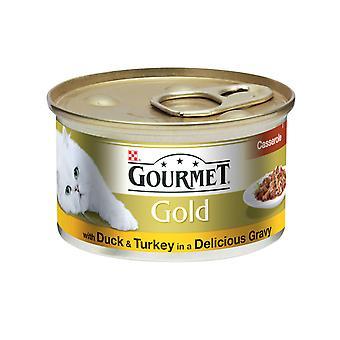 Gourmet guld kan ænder & Tyrkiet Cig 85g (pakke med 12)