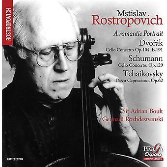 Dvorak, a. / Schumann, R. / Boult, Adrian Sir - romantisk portræt [SACD] USA import