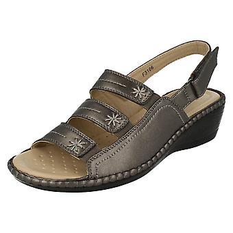 Damer Eaze Comfort kile sandaler