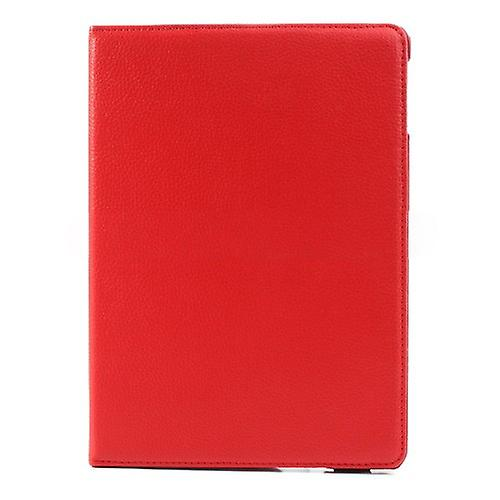Cover art leather 360 degree bag red for Apple iPad air 2 2014