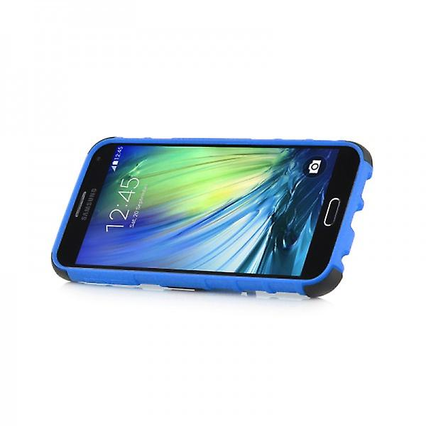 Hybrid case 2 piece SWL robot blue for Samsung Galaxy A3 A300 A300F