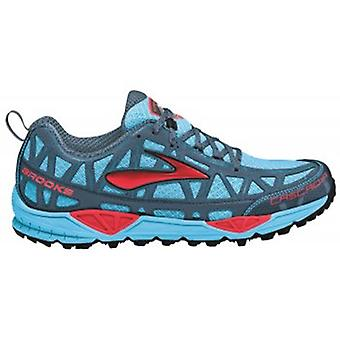 Cascadia 8 Trail Running Shoes Aquarius/Hibiscus/BearingSea/Black Women's