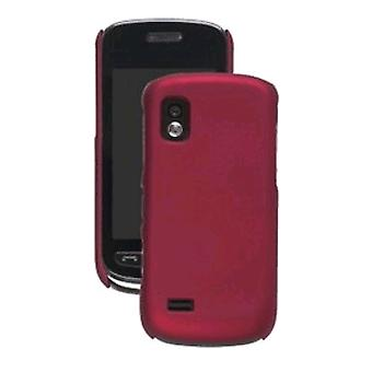Wireless Solution Color Click Case for Samsung SGH-A887, Dark Red