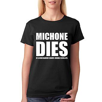 Tee Bangers Michonne Dies  Walking Dead T-shirt