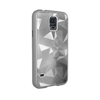Verizon Luxurious Geometric Case for Samsung Galaxy S5 - Silver