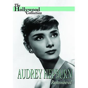 Audrey Hepburn - Audrey Hepburn huskede [DVD] USA import