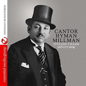 Rabbi Hyman Millman - Tfelois Chaim [CD] USA import