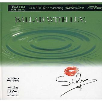 Šaľa Jones - ballade med Luv. [CD] USA import