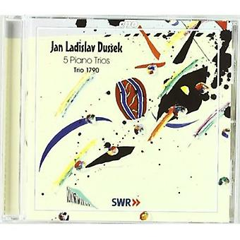 J.l. Dusseks - Jan Ladislav Dusseks: 5 importieren Piano Trios [CD] USA