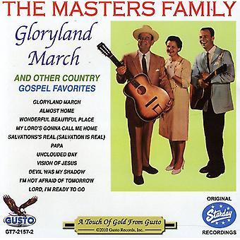 Familia de maestros - Gloryland marcha [CD] USA importar