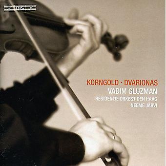 Korngold/Dvarionas - Korngold & Dvarionas: Violin Concertos [CD] USA import