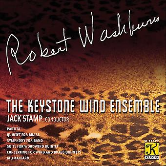 R. Washburn - The komponistens stemme: Robert Washburn [CD] USA import