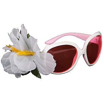 Audreybrille Sonnenbrille Luxus Scherzbrille Blumenbrille Blume