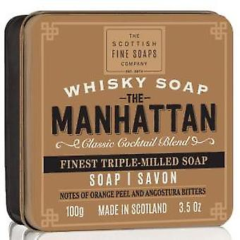 Scottish Fine Soaps Whisky Manhattan sapone In scatola 100g
