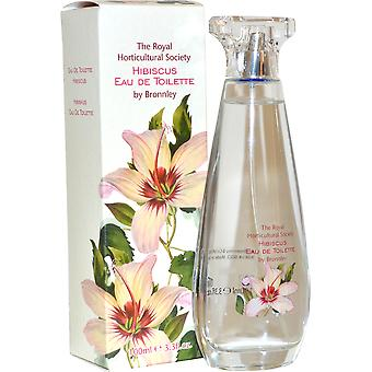 Royal Horticultural Society Bronnley Eau de Toilette Spray 100ml Hibiscus