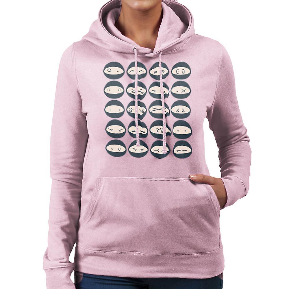 ninjas damen sweatshirt mit kapuze fruugo. Black Bedroom Furniture Sets. Home Design Ideas