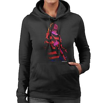 Kurt Cobain Nirvana Guitar Women's Hooded Sweatshirt