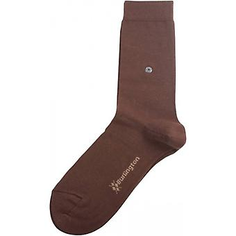 Lady Burlington Socken - braun