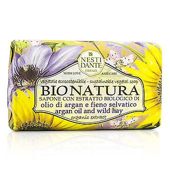 Nesti Dante Bio Natura Sustainable Vegetal Soap - Argan Oil & Wild Hay 250g/8.8oz