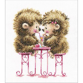 Raspberry Cocktail Counted Cross Stitch Kit-9.75