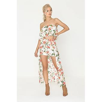 Girls on Film Floral Maxi Co Ord