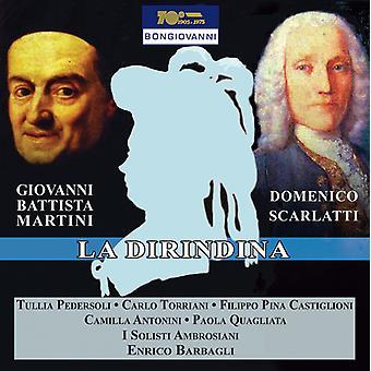 Giovanni Battista Martini / lema, Francesco - importación de Estados Unidos La Dirindina [CD]