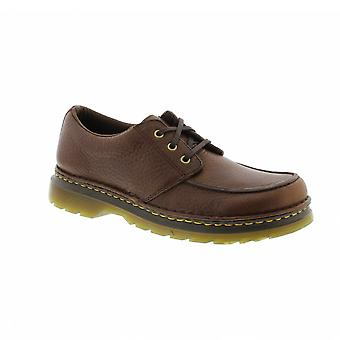 Dr Martens Lubbock - Dark Brown Grizzly Leather Mens Shoes