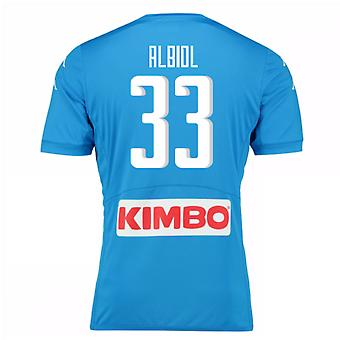 2016-17 Napoli authentiek thuis Shirt (Albiol 33)