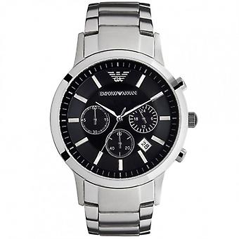 Armani Watches Classic Stainless Steel Mens Watch Ar2434