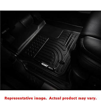 Husky Liners 98441 Black WeatherBeater Front & 2nd Seat FITS:HONDA 2012 - 2013