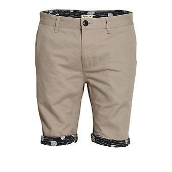 Bellfield Walton stampato alzare Chino Shorts