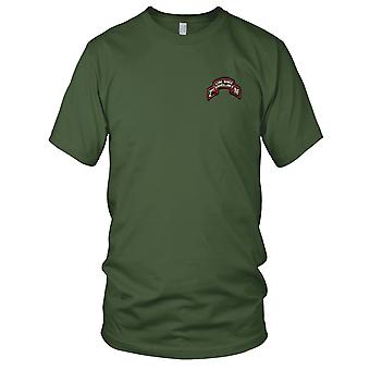 US Army - 2nd Infantry Division LRS Embroidered Patch - Mens T Shirt