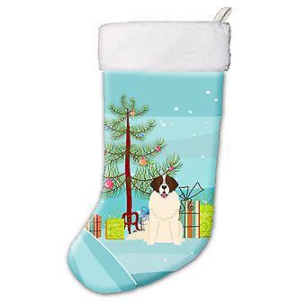 Merry Christmas Tree Moskauer Wachhund Weihnachts-Strumpf