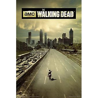 The Walking Dead - Highway Poster Poster Print