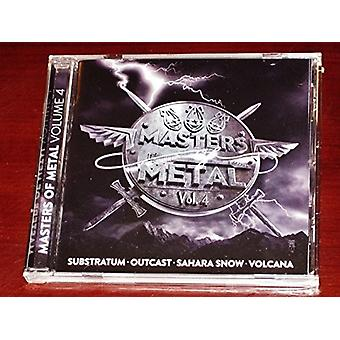 Various Artist - Masters of Metal: Vol. 4 [CD] USA import