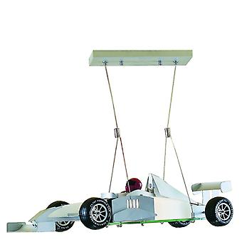 Novelty Formula One Racing Car Ceiling Pendant - Searchlight F1
