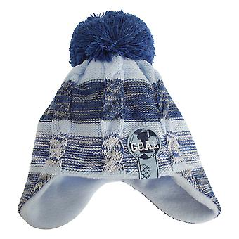 Nursery Time Baby Boys Football Winter Ear Warmer Bobble Hat