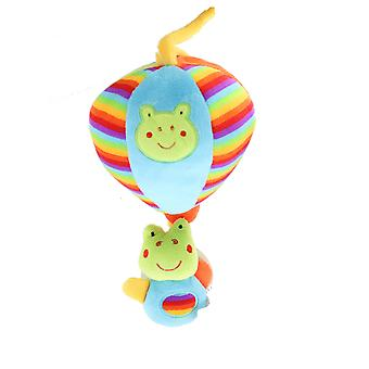 First Steps Baby Musical Plush Frog Toy with Bright Colours