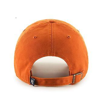 47 Brand NY Yankees Clean Up Cap - Burnt Orange