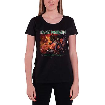Iron Maiden T Shirt From Fear To Eternity Album Official Womens New Skinny Fit