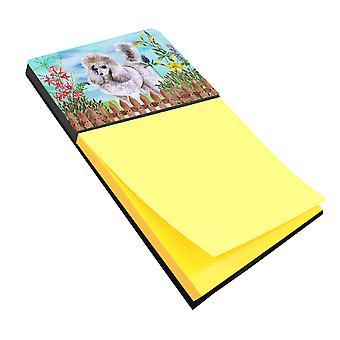 Carolines Treasures  CK1227SN Poodle Spring Sticky Note Holder