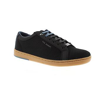 Ted Baker Barces - zwart textiel Mens Trainers
