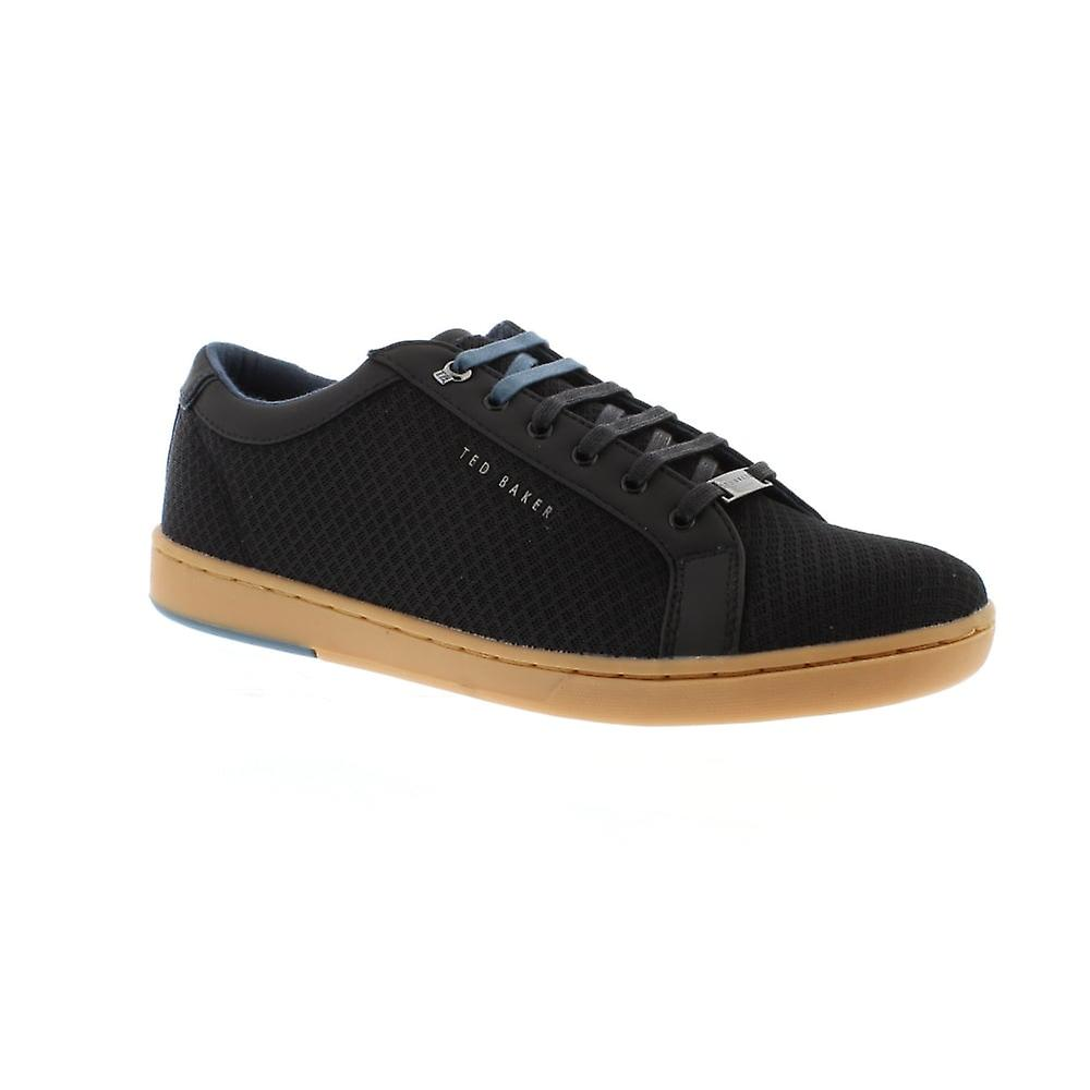 Ted Baker Barces - Black Textile Mens Trainers