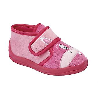 d9c76878c94 Infant Baby Girls Touch Fastening Rabbit Bootee Ankle Slippers Shoes