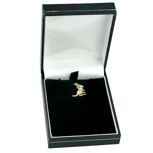 9ct Gold 13x14mm Kangaroo Pendant or Charm