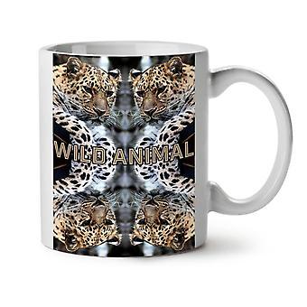 Wild Leopard Cat NEW White Tea Coffee Ceramic Mug 11 oz | Wellcoda