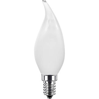 LED E14 Candle angular 3.5 W = 25 W Warm white (Ø x L) 35 mm x 111 mm EEC: A+ Segula Filament, dimmable 1 pc(s)