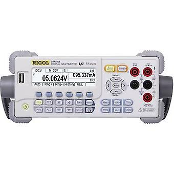 Bench multimeter Digital Rigol DM3058 Calibrated to: Manufacturer's standards (no certificate) CAT II 300 V Display (co