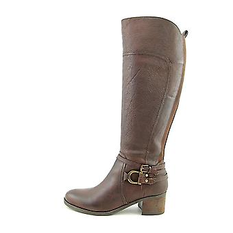 Marc Fisher Womens Kierra Leather Closed Toe Knee High Riding Boots