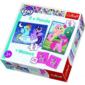 Trefl Puzzle + Memo My Little Pony